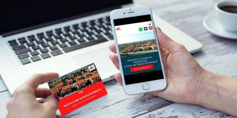 pubblicità da off line a on line case nuove